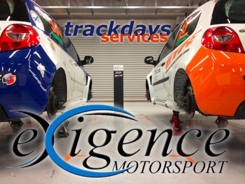 Trackdays services