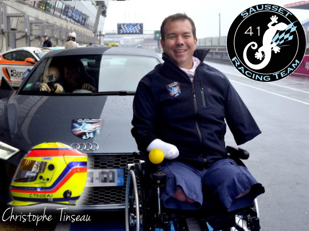 A Paralympic trackday