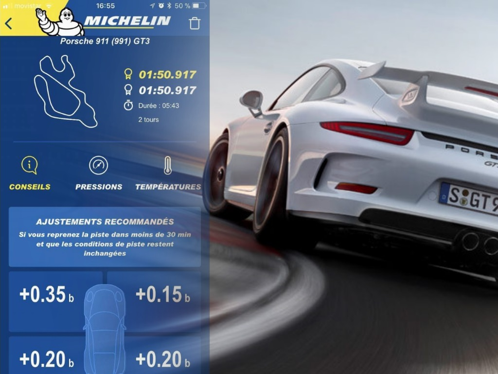 Michelin launches Connect Track